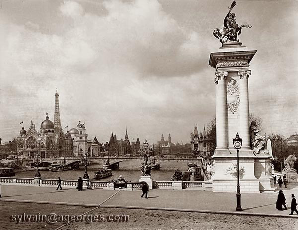 pont alexandre III exposition universelle 1900