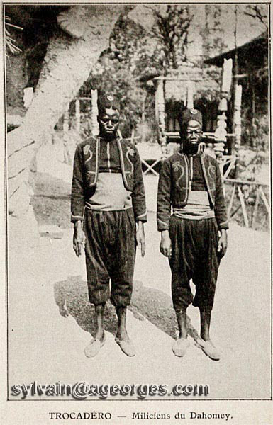 dahomey exposition universelle 1900