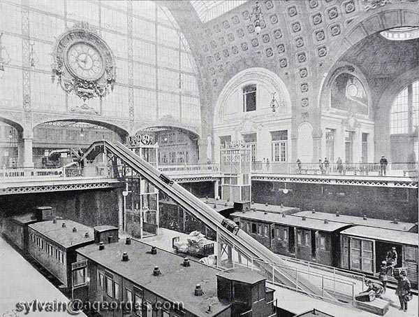 gare d'orleans orsay 1900